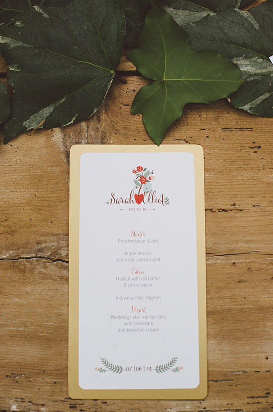 boho chic wedding stationery