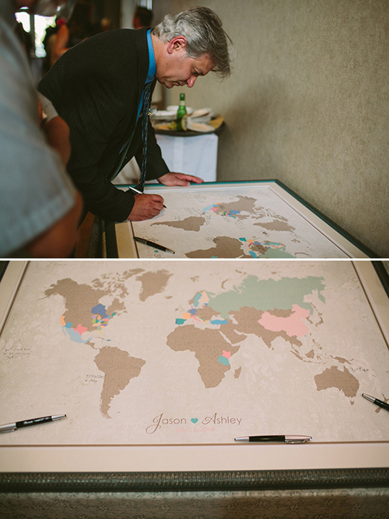 guest book world map