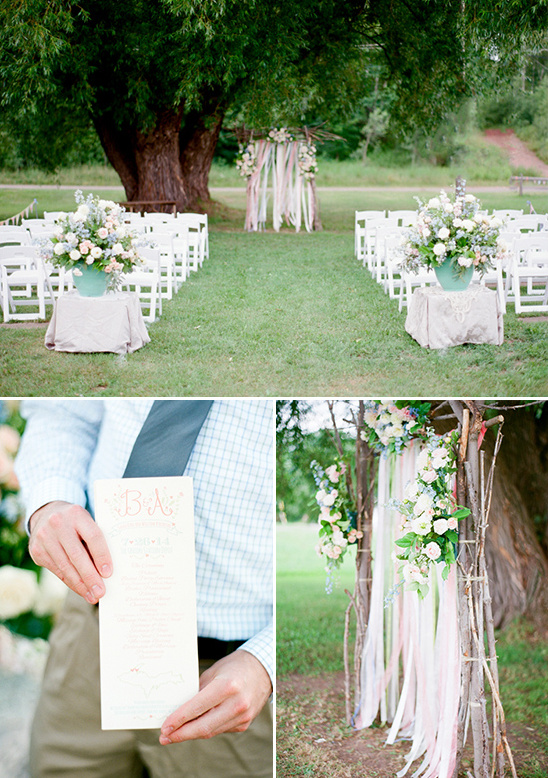 quaint park ceremony