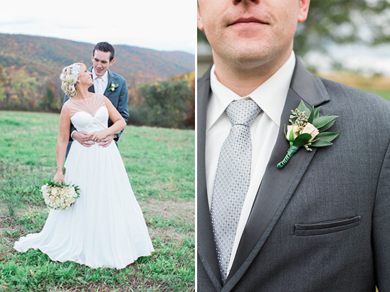 deep grey groom suit