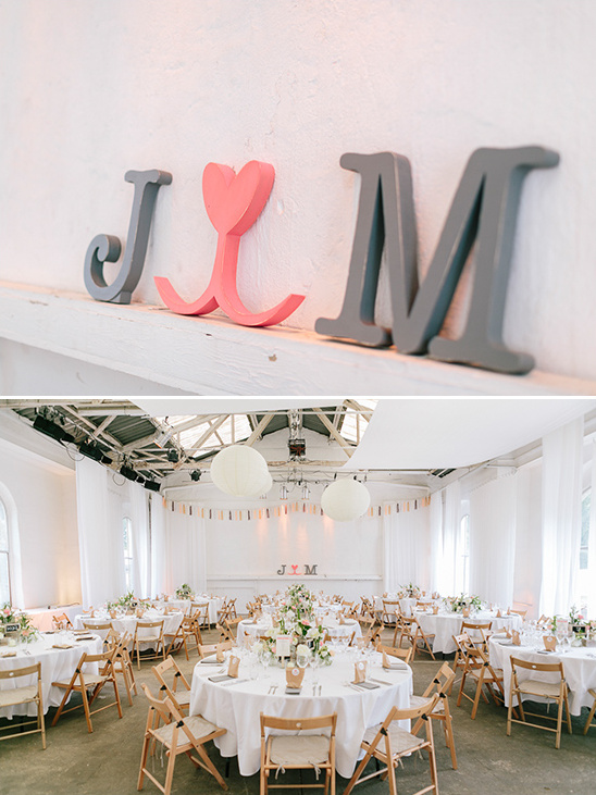 fun and fresh reception space