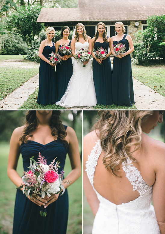 long navy dresses