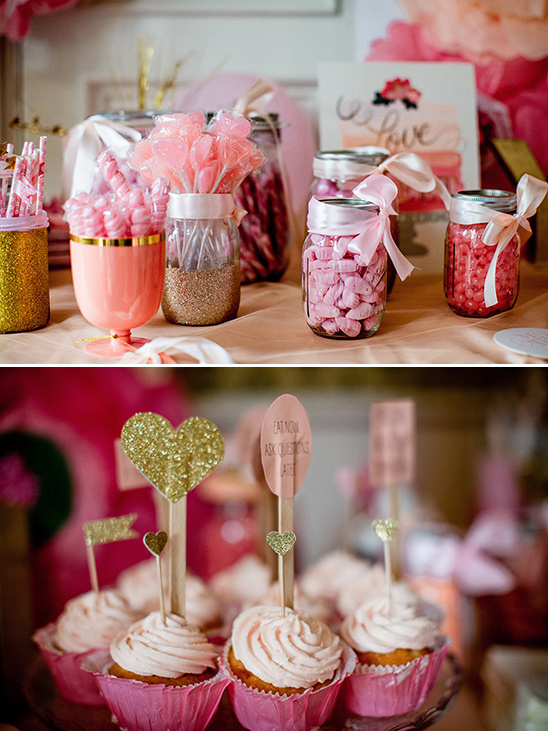 cupcakes and candy