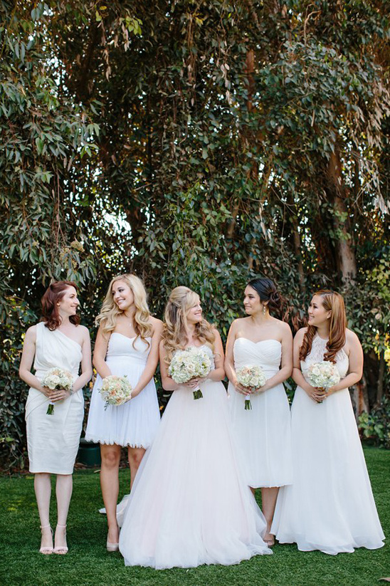 assorted style of bridesmaid dresses