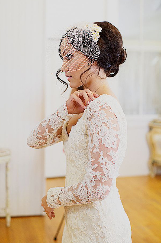 long sleeve wedding gown