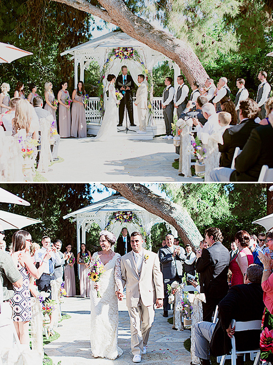 sweet and simple ceremony