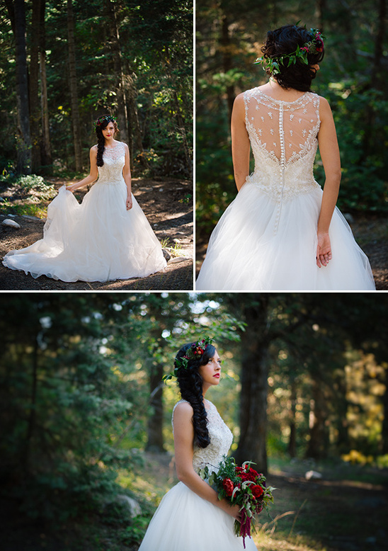 romantic princess style wedding dress from Marys Bridal