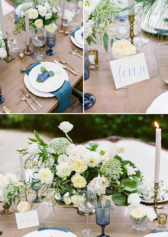 naturalistic table setting ideas