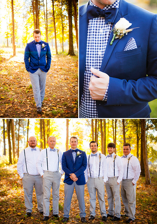 royal blue and grey groomsmen