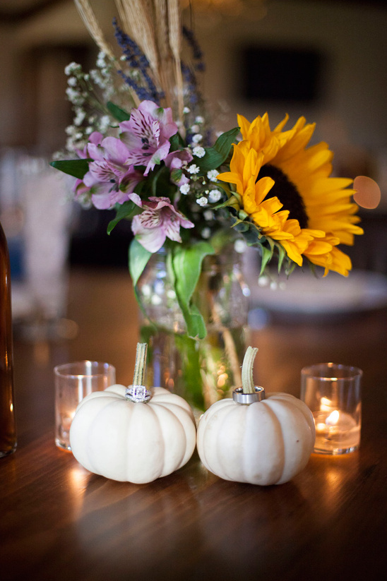 fall themed centerpiece