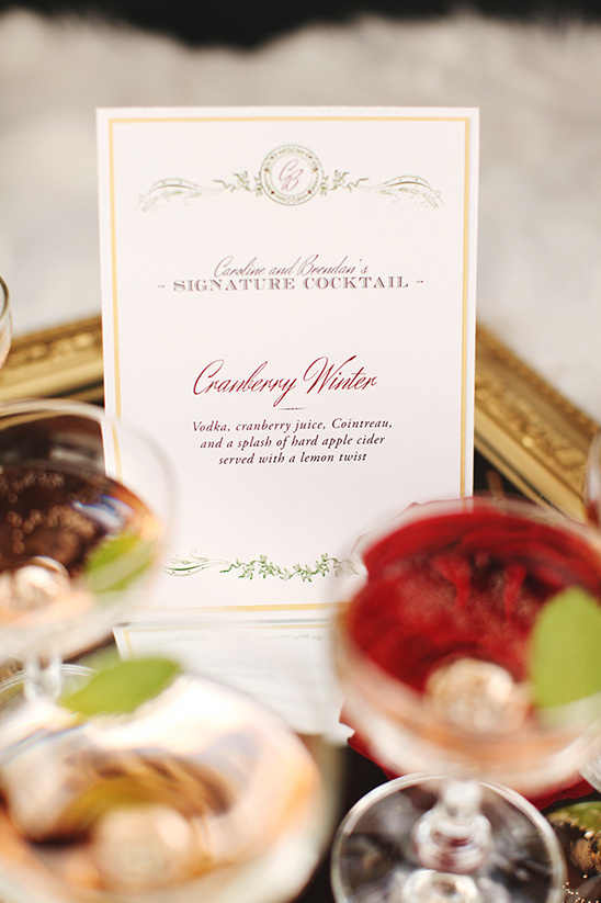 cranberry winter cocktail recipe
