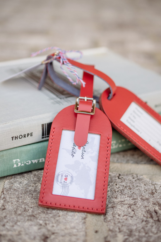 Blog - Luggage Tag Wedding Favors From Love Travels Favors
