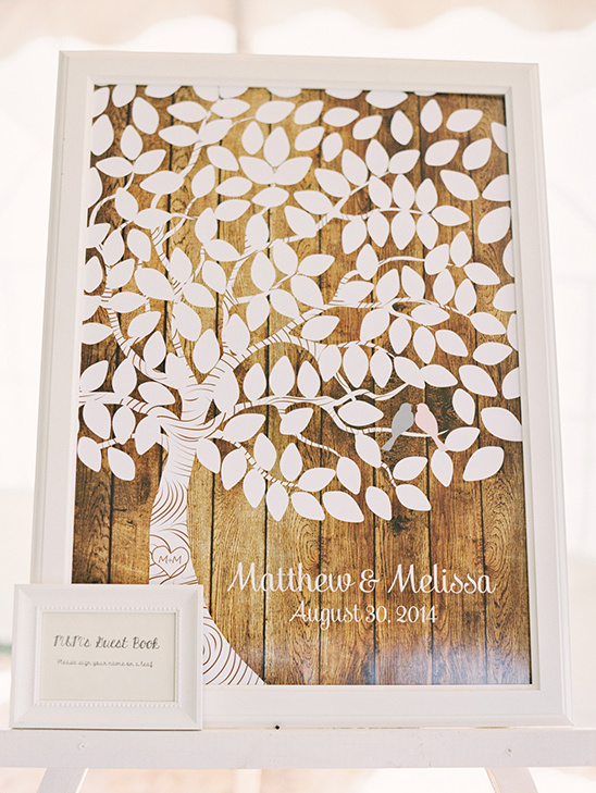 tree board guestbook