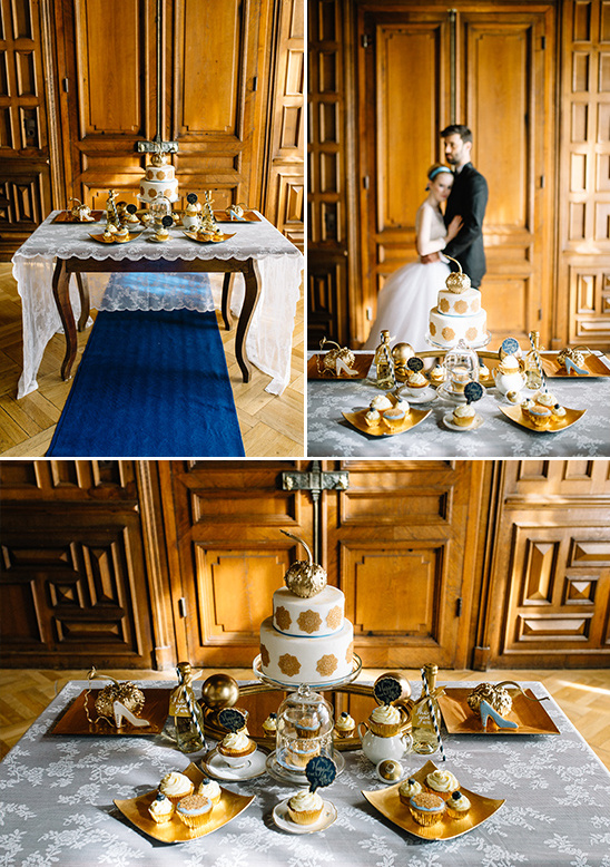 royal dessert table