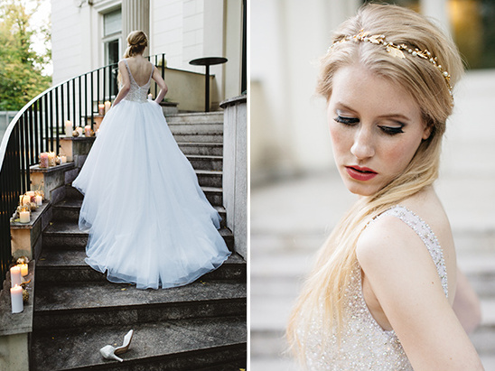 fairytale bridal look