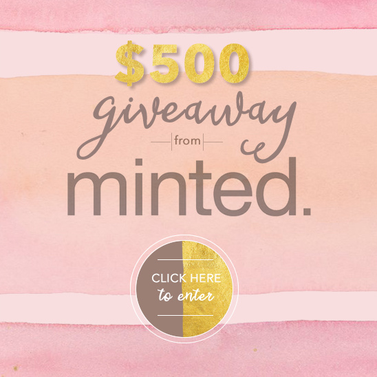 Minted Invitations Giveaway