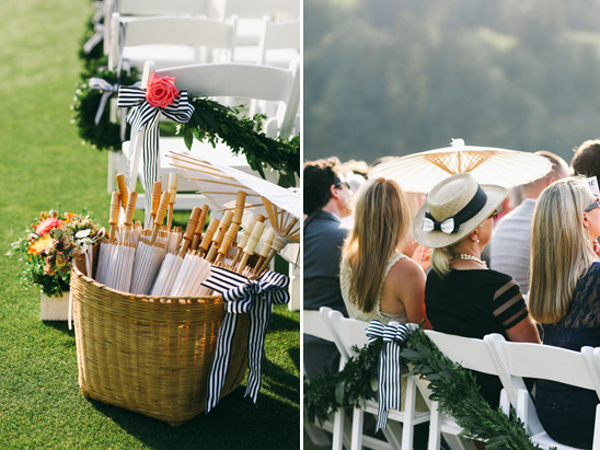 wedding parasols @weddingchicks