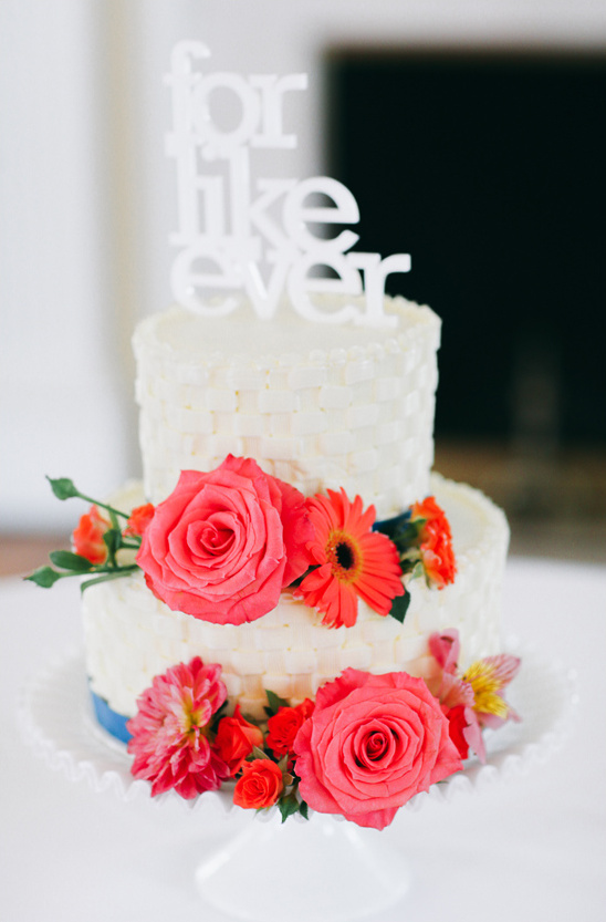 for like ever cake topper @weddingchicks