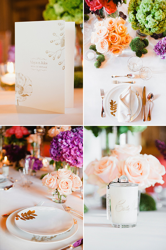 beautiful garden themed tablescape @weddingchicks