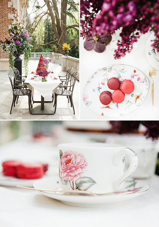 quaint dessert tea party