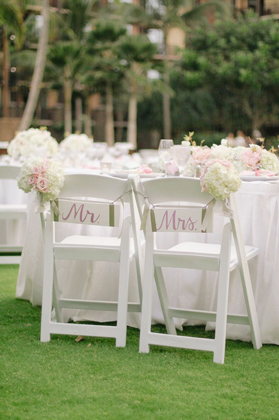 Mr. Mrs. chair signs