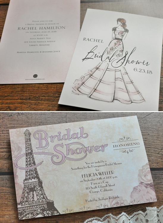 bridal shower invitiation ideas @weddingchicks