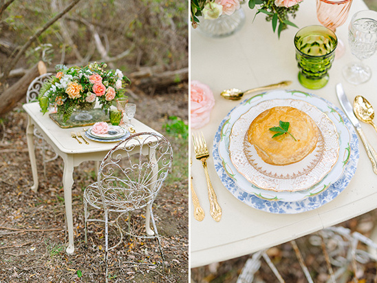 intimate woodland reception @weddingchicks