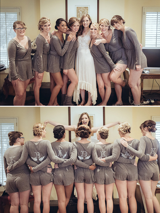bridesmaids rompers