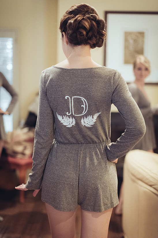 custom bridesmaid rompers @weddingchicks