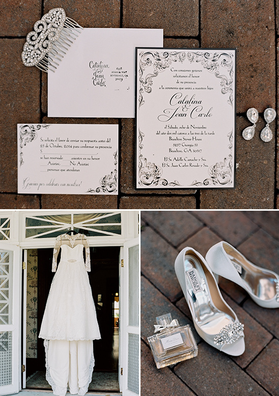 classic romance invitations and accessories @weddingchicks