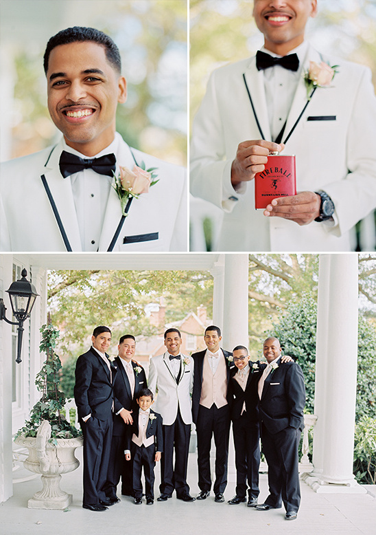 black white and ivory groomsmen @weddingchicks