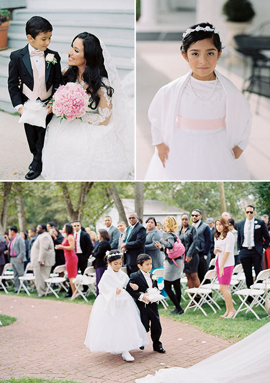 formal flower girl and ring bearer @weddingchicks