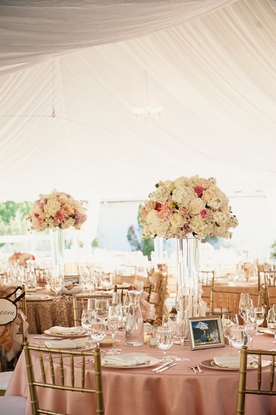 soft and romantic reception ideas @weddingchicks
