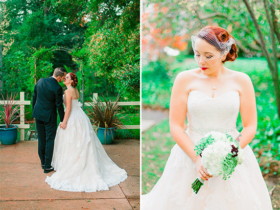 classically lovely bridal look