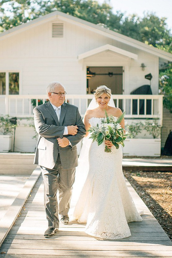 walking down the aisle @weddingchicks