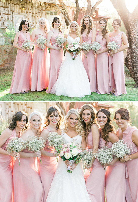long pink wedding dresses @weddingchicks