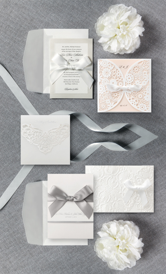 B Wedding Invitations's New Petite Collection @weddingchicks