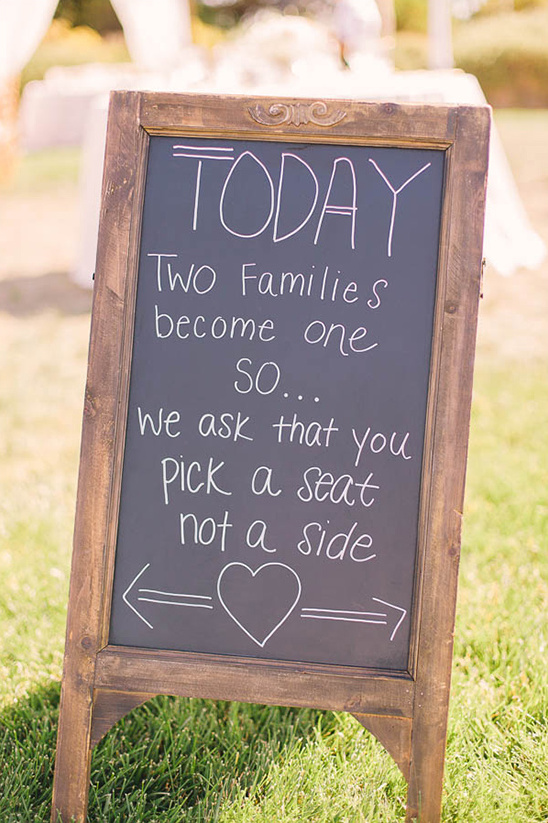 two families become one sign @weddingchicks