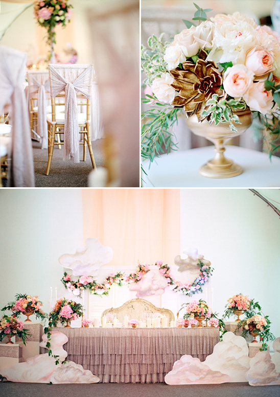 heavenly wedding decor @weddingchicks