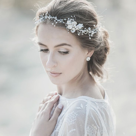 Lavender by Jurgita bridal headpieces @weddingchicks