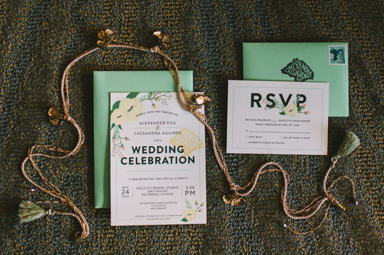 boho chic wedding stationery by Cassandra Egg @weddingchicks