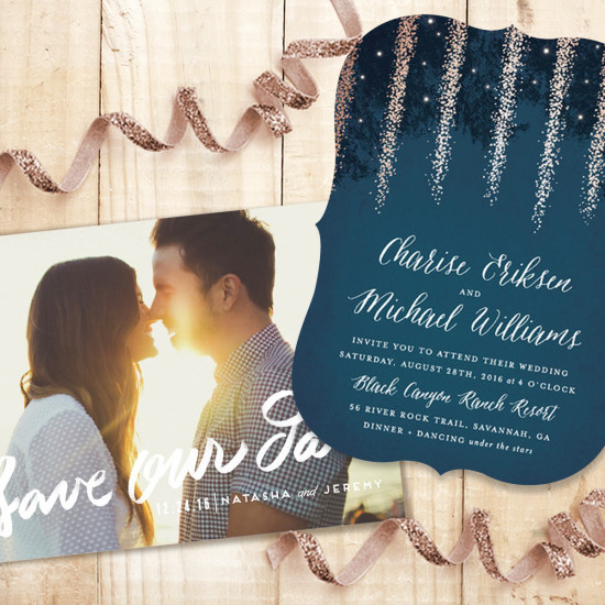 Minted wedding invitations. @weddingchicks
