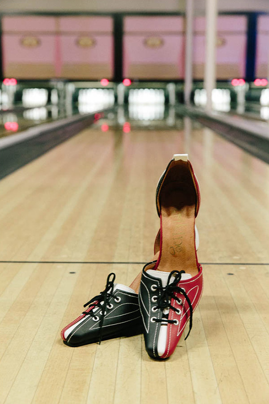 bowling heels @weddingchicks