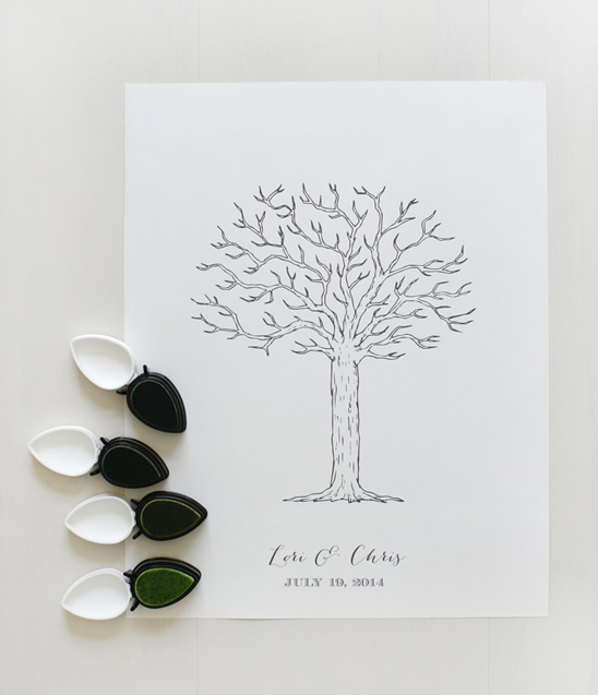 Wedding Guest Book Where It S Your Guests That Sign Their: Free Thumbprint Wedding Guest Book