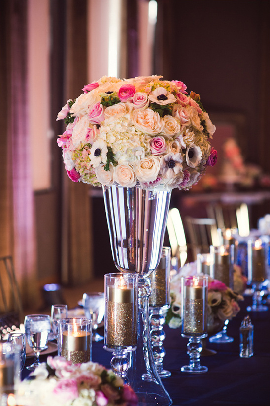 tall standing floral centerpieces @weddingchicks