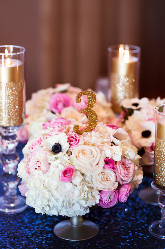 gold and pink wedding ideas @weddingchicks