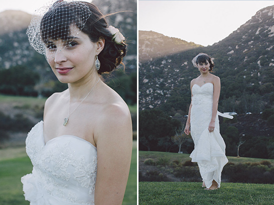 vintage inspired bridal look @weddingchicks