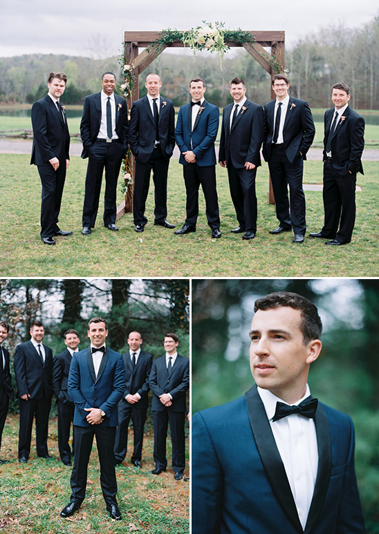 classic black and white groomsmen @weddingchicks