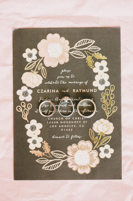 Minted wedding invitation @weddingchicks