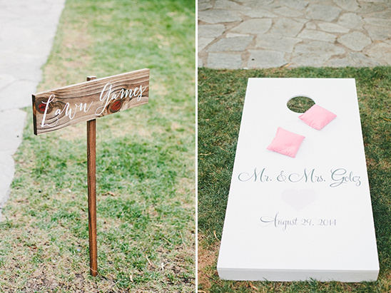 lawn games @weddingchicks